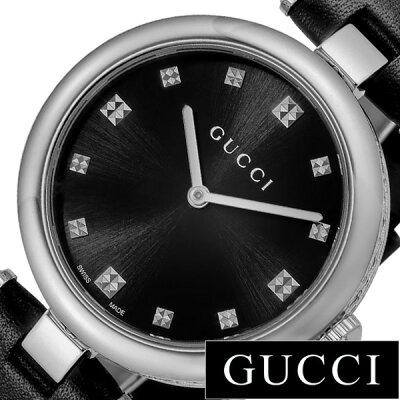 80258e3a7a グッチ腕時計 GUCCI時計 GUCCI 腕時計 グッチ 時計 ディアマンティッシマ DIAMANTISSIMA レディース ブラック  YA141403[