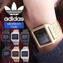 アディダス 腕時計(レディース) [あす楽]\ペアウォッチ/ デジタル 腕時計 おしゃれ スクエア型 アディダス腕時計 adidas時計 adidas レディース ブランド アディダス スニーカー 時計 アーカイブ ARCHIVE_M1 メンズ [ デジタル スポーツ フル韓国 ストリート プレゼント ]