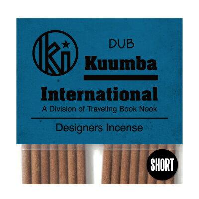 クンバ お香 セレブリティな香水調のお洒落な香り 28本入り ミニサイズ Dub インセンス KUUMBA