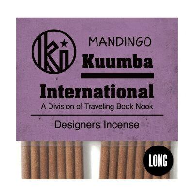 クンバ お香 上品で濃厚なラテン系の優雅な香り 15本入り レギュラーサイズ Mandingo インセンス KUUMBA