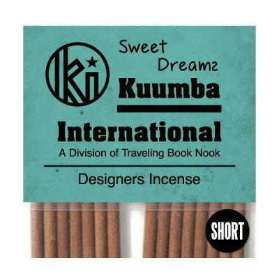 クンバ お香 甘すぎない上品な石鹸のようなリラックスする香り 28本入り ミニサイズ Sweet Dreams インセンス KUUMBA