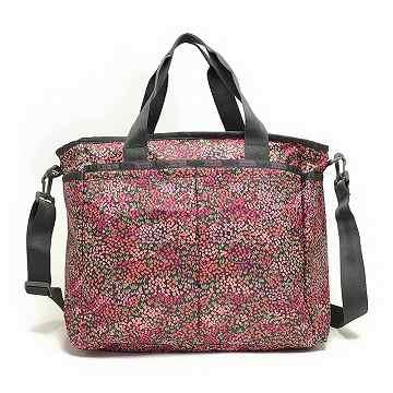 レスポートサック LeSportsac 7532 D489 Ryan Baby Bag マザーバッグ Lavender Fields * ◇【c】【新品・未使用・正規品】