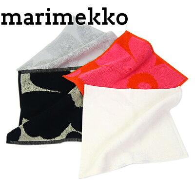 マリメッコ marimekko ハンドタオル ハンカチ タオル オーガニック コットン ウニッコ柄 063837