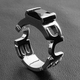 ダブコレクション 【送料無料】 リング メンズ プレゼント ギフト シルバー SV925 シルバーリング メンズリング DUBj-199-1 エンブレムストーンリング ダブコレクション DUB Collection