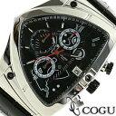 COGU 腕時計(メンズ) COGU コグ 腕時計 C43-BK メンズ クロノグラフ