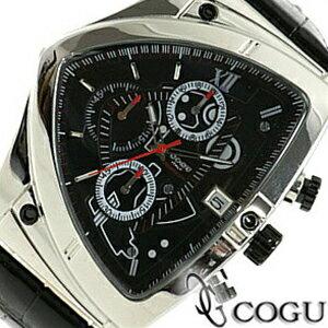 COGU コグ 腕時計 C43-BK メンズ クロノグラフ