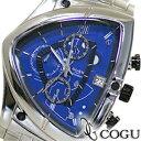 COGU 腕時計(メンズ) COGU コグ 腕時計 C43M-BL メンズ クロノグラフ