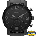 フォッシル 腕時計(メンズ) 【並行輸入品】FOSSIL フォッシル 腕時計 JR1401 メンズ NATE ネイト クロノグラフ