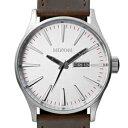 ニクソン 腕時計(メンズ) 【並行輸入品】NIXON ニクソン 腕時計 A105-1113 メンズ THE SENTRY LEATHER クオーツ