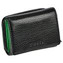 ディーゼル 財布(メンズ) DIESEL ディーゼル X06639 P3043 H7580 メンズ 三つ折り財布
