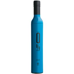 オフェス ofess イサブレラ0% 傘 ワインボトルの様な折りたたみ傘 OFESS ブルー 青 isabrella0% UV おしゃれ かわいい かっこいい