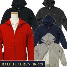 ラルフローレン POLO by Ralph Lauren Boy's定番ベーシック フルジップパーカーラルフローレン パーカー323547626 送料込スウェット パーカー