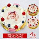オリジナル写真のデコレーションケーキ ≪シェリーブランのマカロン 写真ケーキ≫誕生日ケーキ バースデーケーキの新定番 みんなが楽しめる写真ケーキを送ってみませんか?写真ケーキ4号サイズ(2〜3名用)