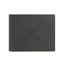 バーバリー 二つ折り財布 メンズ バーバリー BURBERRY 財布 メンズ 二つ折り財布 ダークチャコール(ロンドンチェック柄) HIP FOLD 80174671 KCO:110269 A5656 DARK CHARCOAL IP CHK【英国】