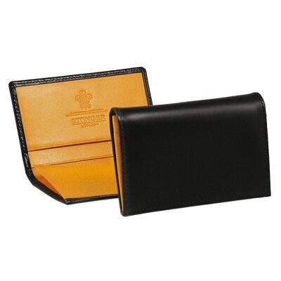 エッティンガー ETTINGER メンズ 名刺入れ(カードケース) ブラック 黒 ブライドルレザー LEATHER VISITING CARD CASE BH143JR BLACK BRIDLE HIDE COLLECTION【英国】
