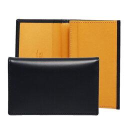 エッティンガー エッティンガー ETTINGER メンズ 名刺入れ(カードケース) ネイビー ブライドルレザー LEATHER VISITING CARD CASE BH143JR NAVY BRIDLE HIDE COLLECTION