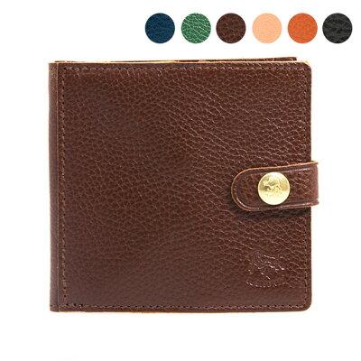 イルビゾンテ IL BISONTE 財布 二つ折り財布 WALLET C0508 P [全5色]