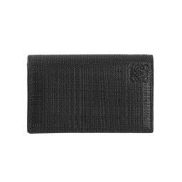 ロエベ ロエベ LOEWE メンズ 名刺入れ(カードケース) LINEN BUSINESS CARD HOLDER [リネン ビジネスカードホルダー] ブラック 101 88 M97 1100 BLACK