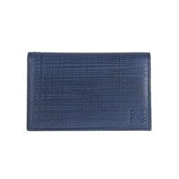 ロエベ 財布(メンズ) ロエベ LOEWE 財布 メンズ カードケース COMPACT WALLET [コンパクトウォレット] ネイビーブルー 101 88 L56 5110 NAVY BLUE
