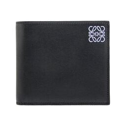 ロエベ 二つ折り財布(メンズ) ロエベ LOEWE 財布 メンズ 二つ折り財布(小銭入れ付) ブラック STAMP BIFOLD/COIN WALLET [スタンプ ビルフォールド/コインウォレット] 109 54 501 1100 BLACK