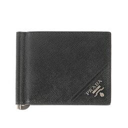 プラダ マネークリップ プラダ PRADA メンズ 財布 カードケース マネークリップ ブラック WALLET PORTAF. A MOLLA 2MN077 QME F0002 NERO
