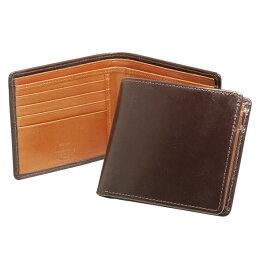 ホワイトハウスコックス 財布(メンズ) ホワイトハウスコックス WHITEHOUSE COX 財布 メンズ 二つ折り財布(小銭入れ付) ハバナブラウン/ニュートン COIN WALLET S7532/SR1563 HAVANA/NEWTON (JP)【英国】