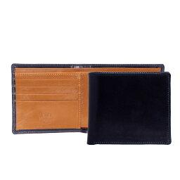 ホワイトハウスコックス 財布(メンズ) ホワイトハウスコックス WHITEHOUSE COX 財布 メンズ 二つ折り財布(小銭入れ付) ネイビー/ニュートン COIN WALLET S7532 NAVY/NEWTON (JP)【英国】