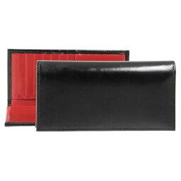 ホワイトハウスコックス 長財布(メンズ) ホワイトハウスコックス Whitehouse Cox 財布 長財布(小銭入れ付) ブラック/レッド LONG WALLET S9697 BLACK/RED (JP)