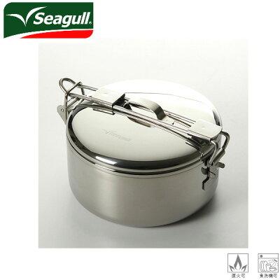 【シーガル seagull】 ランチボックス フードキャリア 弁当箱 ステンレス 12×1【BBQ】【COOK】 お買い得 【clapper】
