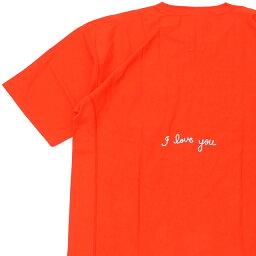 ロンハーマン 新品 ロンハーマン RHC Ron Herman x チャンピオン Champion I Love You Tee リバースウィーブ Tシャツ ORANGE オレンジ メンズ 新作 半袖Tシャツ 39ショップ