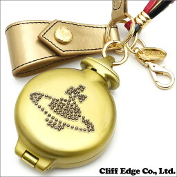 ヴィヴィアンウエストウッド 携帯灰皿 Vivienne Westwood (ヴィヴィアン・ウエストウッド) ラインストーンORB Portable ashtray (携帯灰皿) GOLD 290-003626-018x【新品】