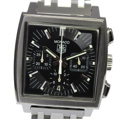 タグホイヤー モナコ 腕時計(メンズ) 【TAG HEUER】タグホイヤー モナコ クロノグラフ CW2111-0 自動巻き メンズ【ev05】