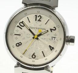 ルイヴィトン 腕時計(レディース) ★良品★【LOUIS VUITTON】ルイ・ヴィトン タンブール Q1313 クォーツ レディース【19112】【ev20】