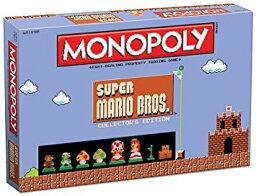 モノポリー モノポリー マリオ USAopoly Monopoly: Super Mario Bros Collector's Edition Board Game 新品