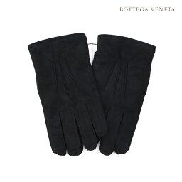 ボッテガヴェネタ 手袋(メンズ) ボッテガヴェネタ BOTTEGA VENETA 486622VZNAO1000 BLACK 手袋 グローブ ラムレザー ブラック 黒 メンズ【送料無料】