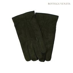 ボッテガヴェネタ 手袋(メンズ) ボッテガヴェネタ BOTTEGA VENETA 486622VZNAO3002 手袋 グローブ ラムレザー カーキ系 メンズ【送料無料】