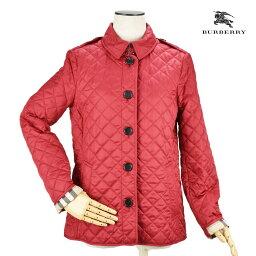 バーバリー バーバリー BURBERRY 3992182 アウター キルティング ジャケット バーバリーチェック ノバチェック レッド 赤 RED レディース【送料無料】