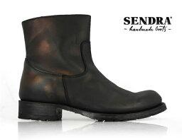 センドラ SENDRA 9491 SPRINTER NEGRO センドラ メンズ ワークブーツ[co-3]