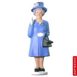 ソーラークイーン KIKKERLAND エリザベス女王 ソーラークイーン (ダービーブルー ) アメリカ雑貨 アメリカン雑貨