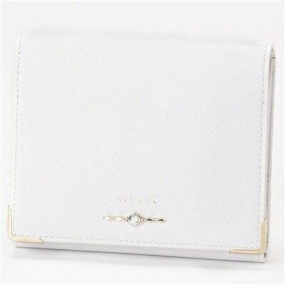 ルリアヨンドシー Luria 4℃ 二つ折り財布 アイスグレー