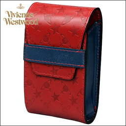 ヴィヴィアンウエストウッド シガレットケース ヴィヴィアン ヴィヴィアン ヴィヴィアン Vivienne Westwood ヴィヴィアン ウエストウッド モノグラム シガレットケース レッド 楽ギフ_包装