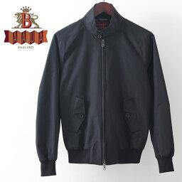 バラクータ バラクータ G9 オリジナル ハリントンジャケット ブラック 英国製 メンズ リブ ブルゾン 上着 ギフト トラッド