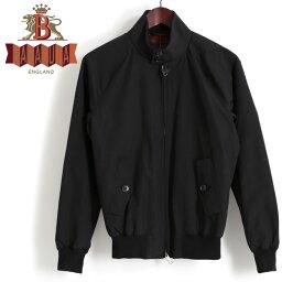 バラクータ バラクータ G9 オリジナル ハリントンジャケット ブラック 英国製 メンズ リブ ブルゾン 上着 ギフト プレゼント