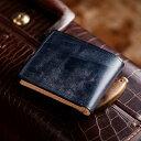 ココマイスター 財布 【伝統職人】【COCOMEISTER(ココマイスター)】ブライドル・インペリアルパース 英国1000年もの歴史を誇る伝統皮革 2つ折り財布 メンズ 紳士物