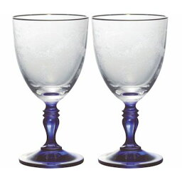 ボヘミア ボヘミアングラス ガーランド ワイングラスペア