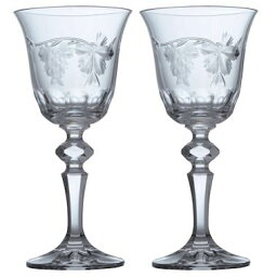ボヘミア ボヘミアングラス バッカス ワイングラス2個セット