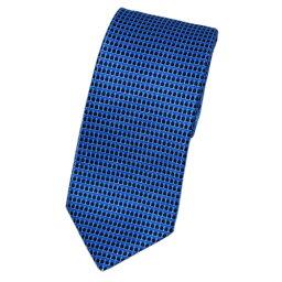 ブルガリ ネクタイ ブルガリ ネクタイ 19421 メンズ プリント デザイン ブルー/ブラック 紙袋付き【あす楽対応】 楽天カード分割