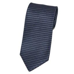 ブルガリ ネクタイ ブルガリ ネクタイ 19423 メンズ プリント デザイン グレー/ブラック 紙袋付き