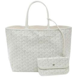 トートバッグ ゴヤール バッグ 定番 GOYARD トートバッグ サンルイPM ホワイト 紙袋付き あす楽対応 キャッシュレスで5%還元!