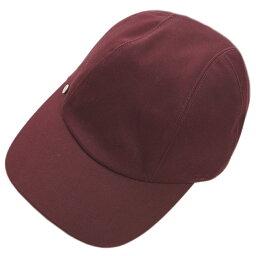 エルメス エルメス 帽子 H182001N49 HERMES ソルド レディース キャスケット キャップ デイヴィス LIE DE VIN ワインレッド 58サイズ